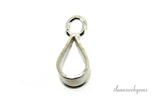 Sterling Silver pendant/ Bail approx. 5.5x3x4.5mm