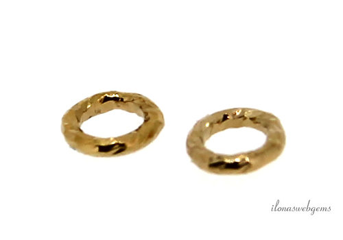 1x Gold Filled closed eye approx. 4x0.75mm