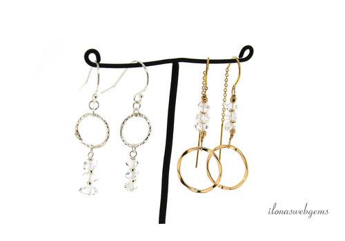 Inspiration: earrings Herkimer Diamond