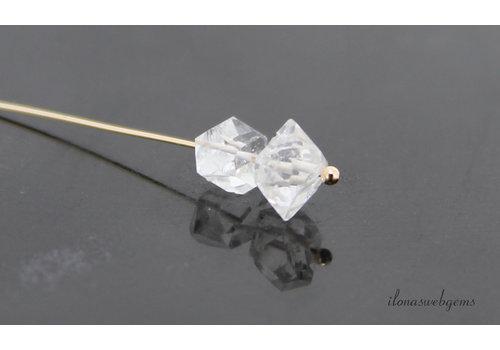 1 paar Herkimer Diamond  ca. 6x5mm