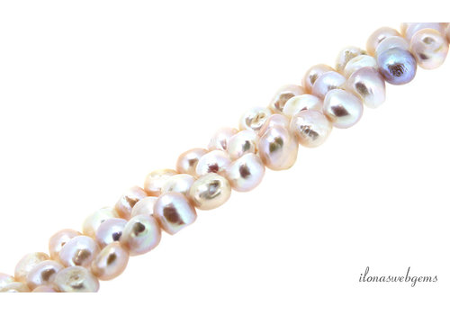Baroque pearls white approx. 10mm