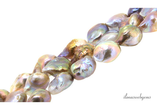 Baroque pearls approx. 14x10mm