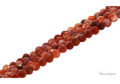 Nankong Agate beads mini faceted around 2mm