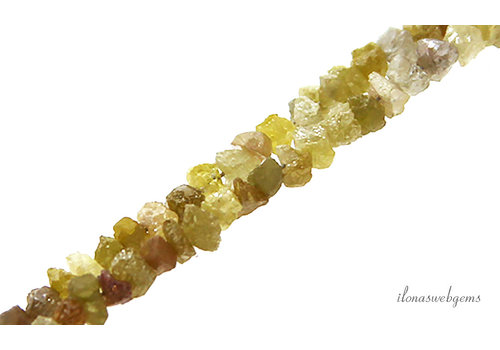 Yellow rough Diamond approx. 4x2mm