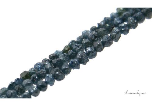 Blue rough Diamond approx. 3x2mm