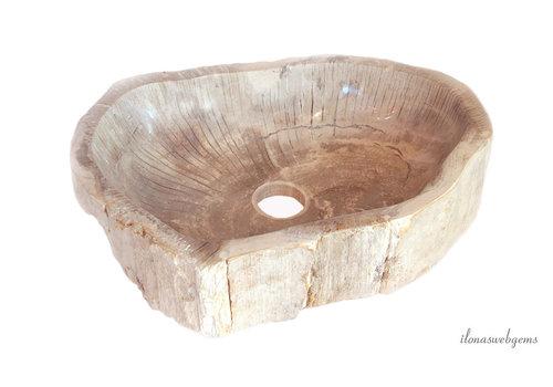 Versteend houten wasbak 6