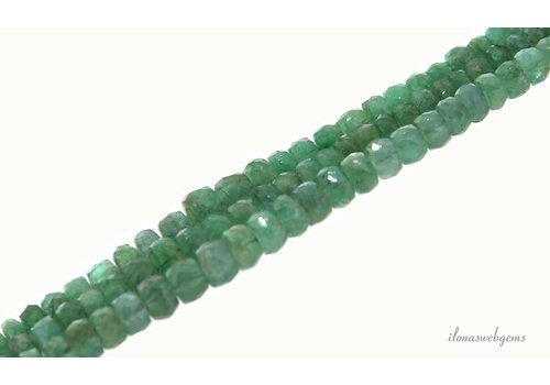 Smaragd kralen facet rondel 2