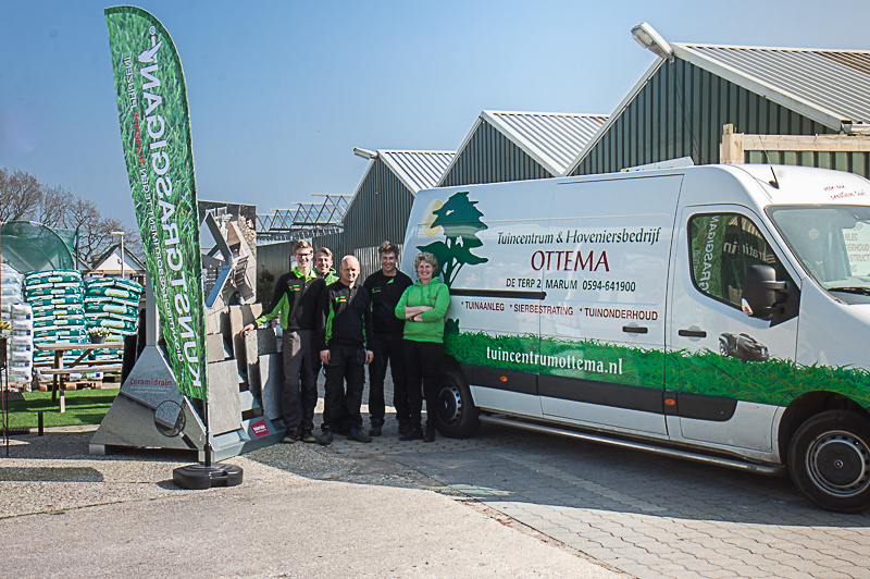 Het team Tuincentrum & Hoveniersbedrijf Ottema