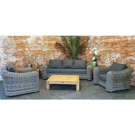 Davinci wicker 3-zit sofa