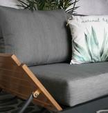 Lotus aluminium loungeset antraciet
