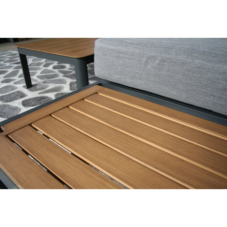 SenS-Line Lotus aluminium loungeset antraciet