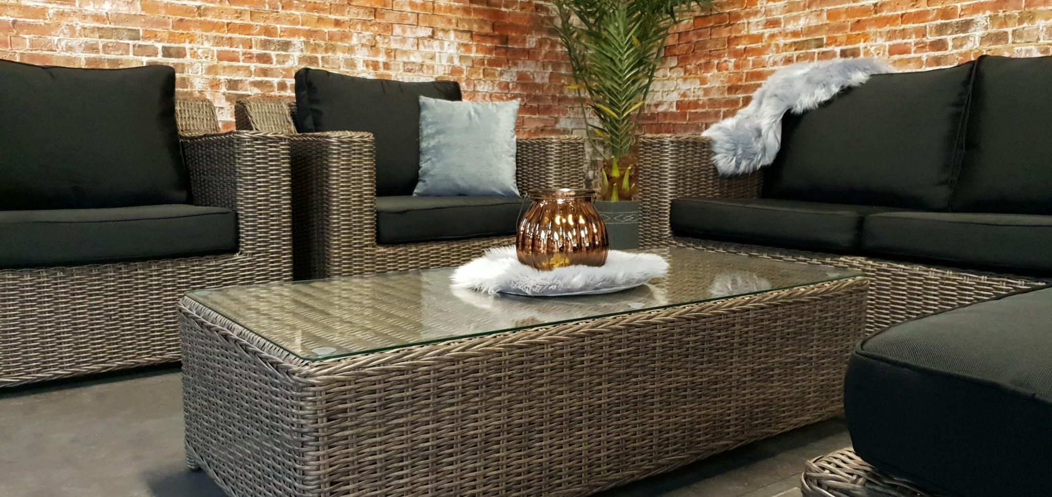Sydney wicker loungeset