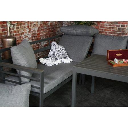 Brandon aluminium lounge hoekset