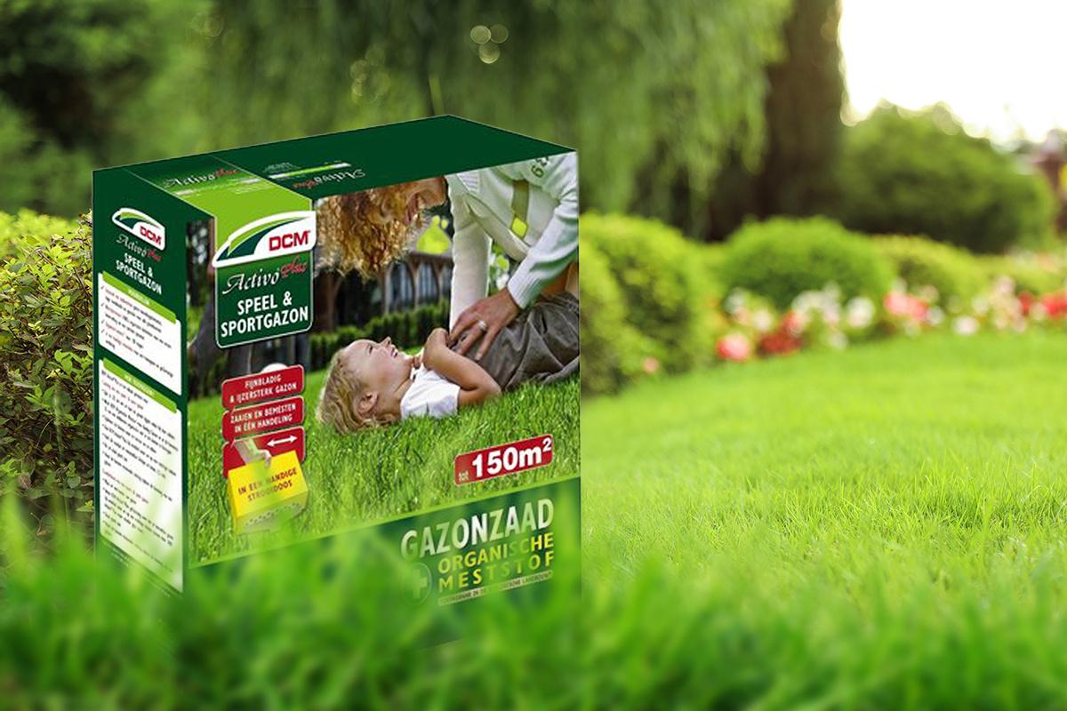 Het voordeel van DCM graszaad bij de aanleg van de nieuwe grasmat