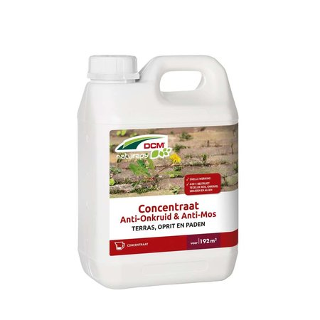Anti-Onkruid & Anti-Mos - Terras, oprit en paden Concentraat