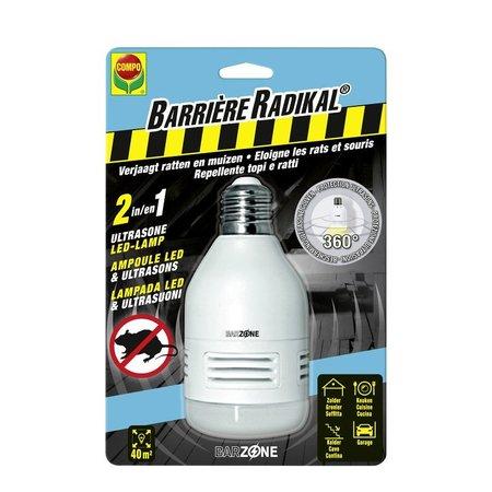 Barrière Radikal 2IN1 Ultrasone Lamp 1 st
