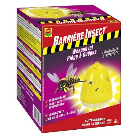 Barrière Insect Wespenval + Wespenvloeistof (1 st + 250 ml)