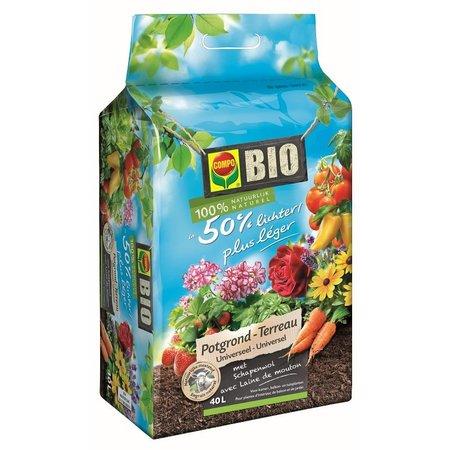 COMPO Bio  Bio Universele Potgrond ca. 50% lichter 40L