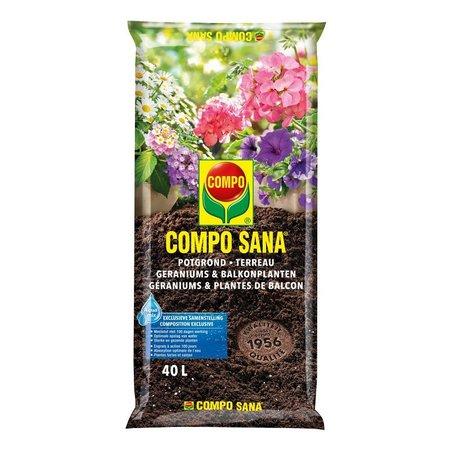 COMPO SANA   Potgrond Geraniums & Balkonplanten 40 L