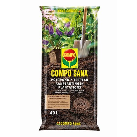 COMPO SANA   Potgrond Aanplantingen 40 L