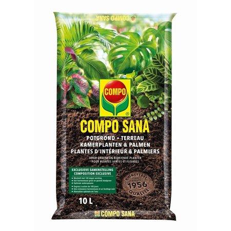 COMPO SANA   Potgrond Kamerplanten & Palmen 10 L