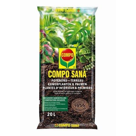 COMPO SANA   Potgrond Kamerplanten & Palmen 20 L