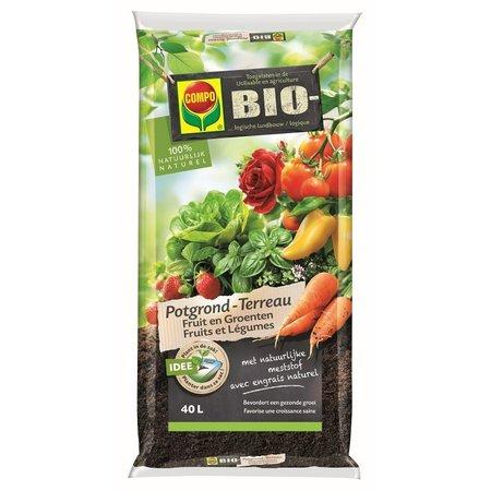 COMPO Bio  Bio Potgrond Fruit & Groenten 40 L