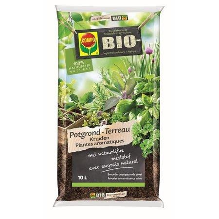 COMPO Bio  Bio Kruidenpotgrond 10 L