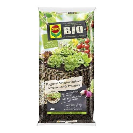 COMPO Bio Potgrond Moestuinbakken 40 L