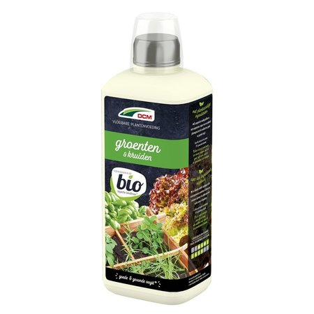 DCM Vloeibare Meststof Groente en Kruiden (0,8 ltr)