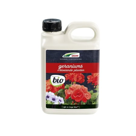DCM Vloeibare Meststof Geraniums/Bloeiende planten (2,50 ltr)