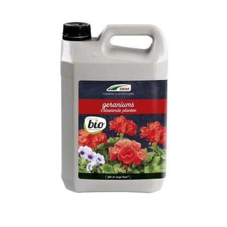 DCM Vloeibare Meststof Geraniums/Bloeiende planten (5 ltr)
