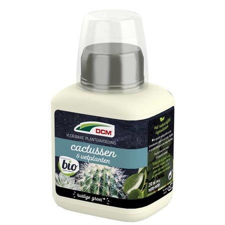 DCM Vloeibare Meststof Cactussen, Vet- & Rotsplanten  (0,25 ltr)
