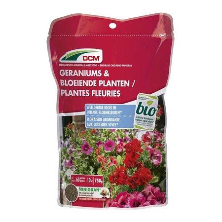 DCM Meststof Geraniums & Bloeiende planten (0,75 KG)