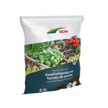 DCM Potgrond Groenten & Kruiden (2,5 ltr)