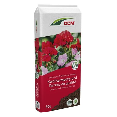 DCM Potgrond Geraniums & Bloeiende planten (30 ltr)