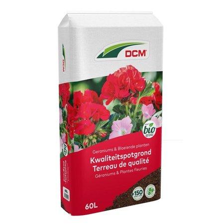 DCM Potgrond Geraniums & Bloeiende planten (60 ltr)