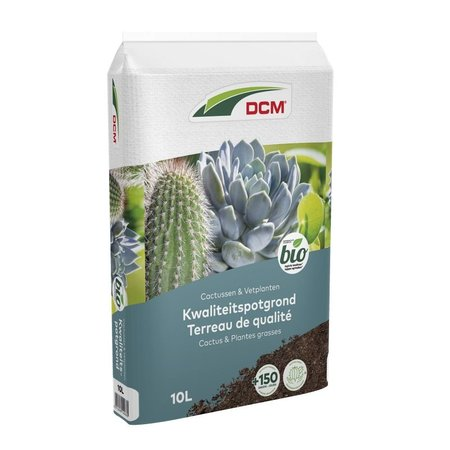 DCM Potgrond Cactussen & Vetplanten (10 ltr)