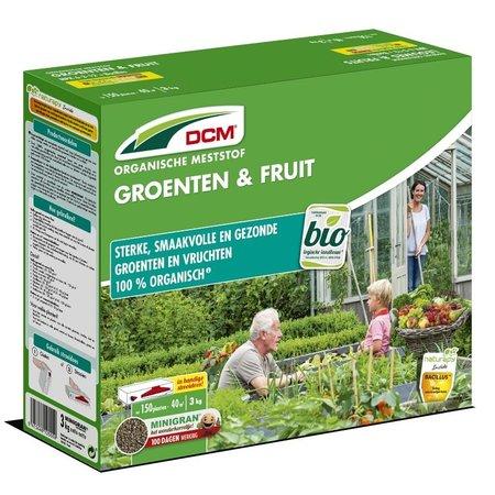 DCM Meststof Groenten & Fruit (3 kg)