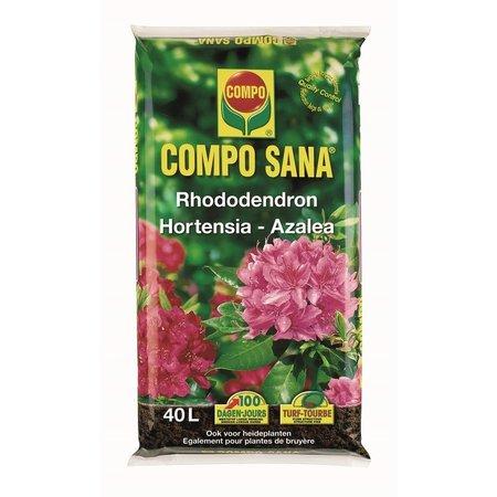 COMPO SANA Bodemverbeteraar Rhododendron-Hortensia-Azalea 40 L