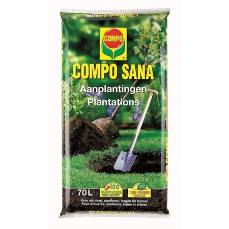 COMPO SANA Bodemverbeteraar Aanplantingen 70 L