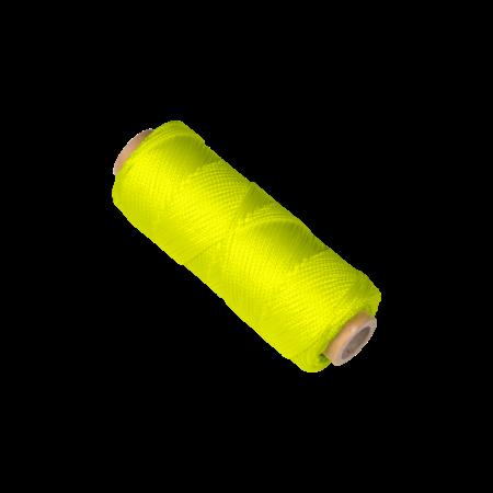 Uitzetkoord, fluorescerend gevlochten koord (50mtr)