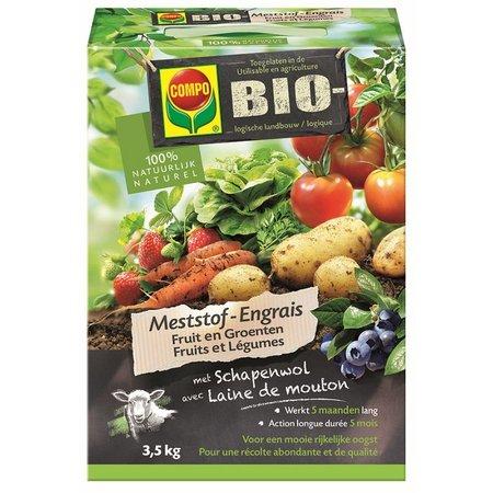 COMPO Bio Meststof Fruit & Groenten 3,5 kg