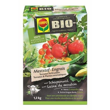 COMPO Bio Meststof Tomaten & Kruiden 1,2 kg