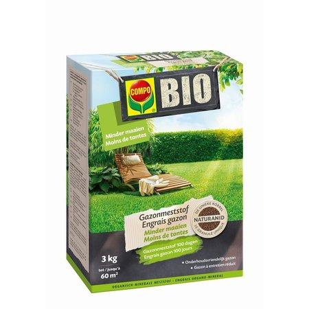 COMPO Bio Gazonmeststof - Minder Maaien 3 kg