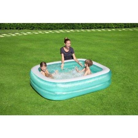 Bestway Familiebad rechthoek 201x150x51cm Aqua fun
