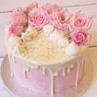 Pretty in Pink drip cake