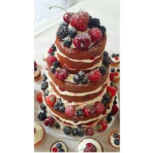 Royal Naked Cake