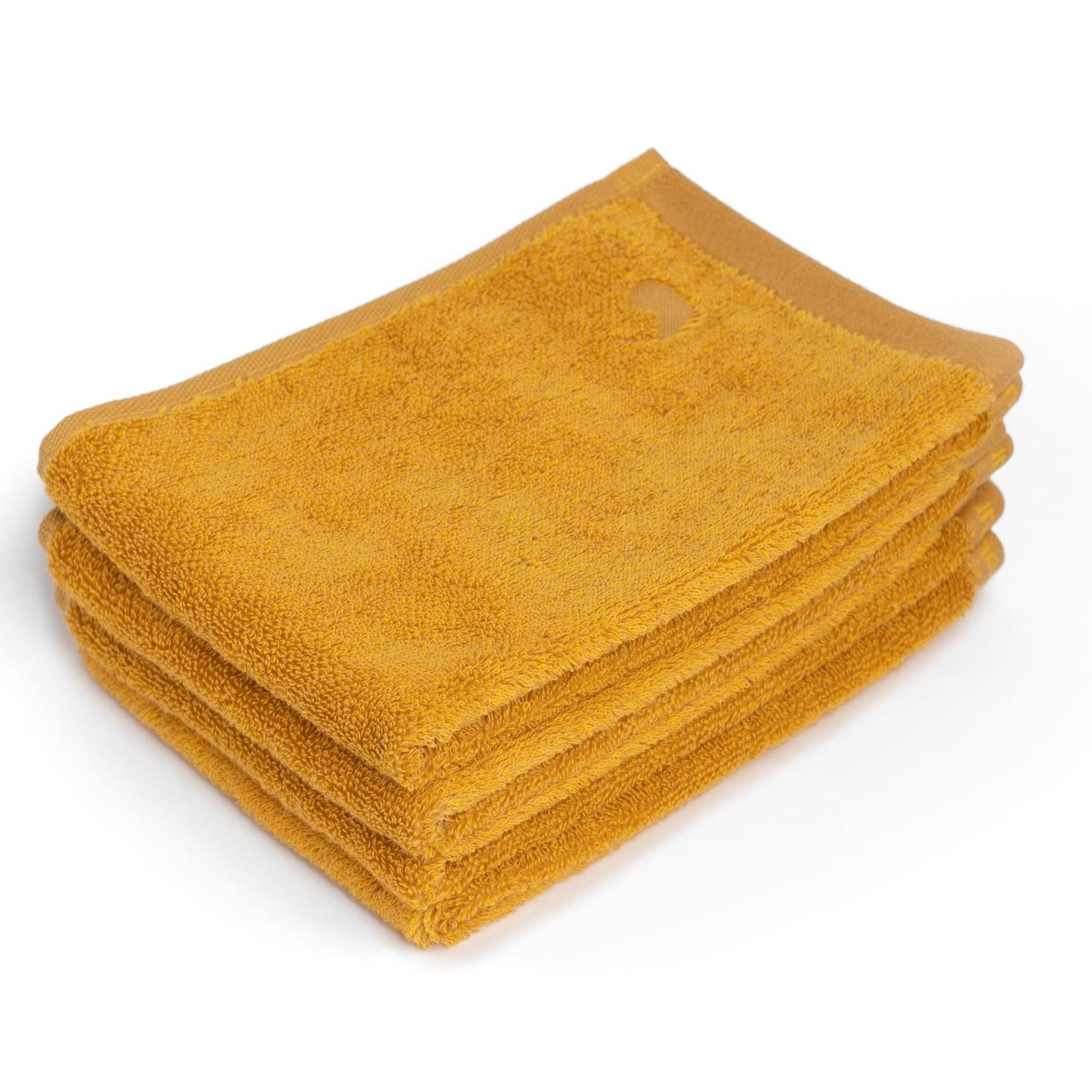 Four Leaves Four Leaves Ahangama geel duurzame handdoeken