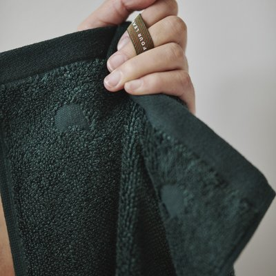 Four Leaves Four Leaves Kandalama groen handdoeken